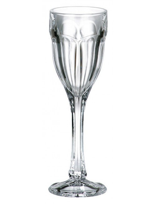 Crystal set wine glass Safari 6x, unleaded crystalite, volume 50 ml