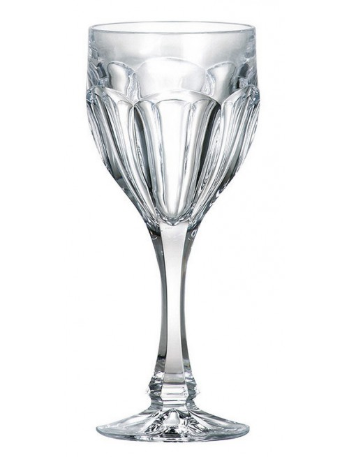 Crystal set wine glass Safari 6x, unleaded crystalite, volume 190 ml