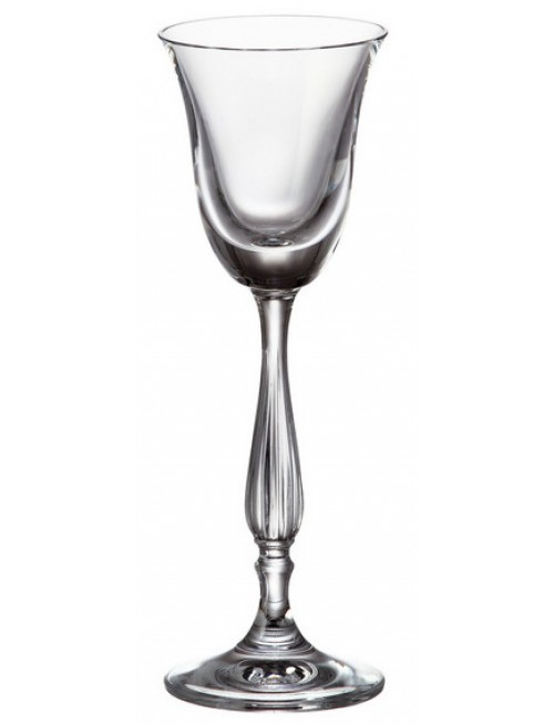 Crystal set wine glass Fregata 6x, unleaded crystalite, volume 60 ml