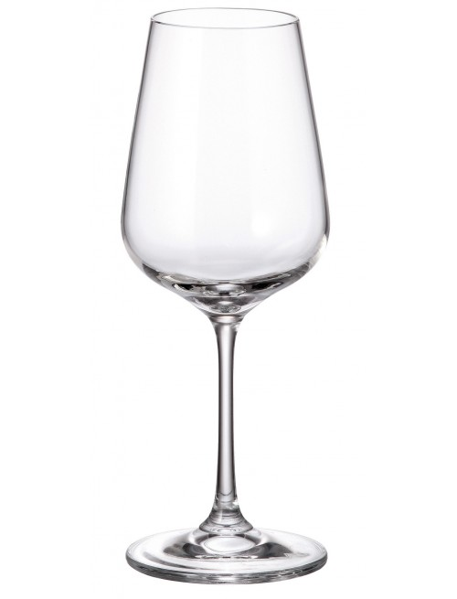 Crystal set wine glass Strix 6x, unleaded crystalite, volume 360 ml