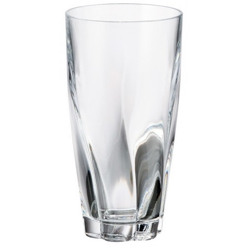 Crystal glass Barley, unleaded crystalite, volume 390 ml