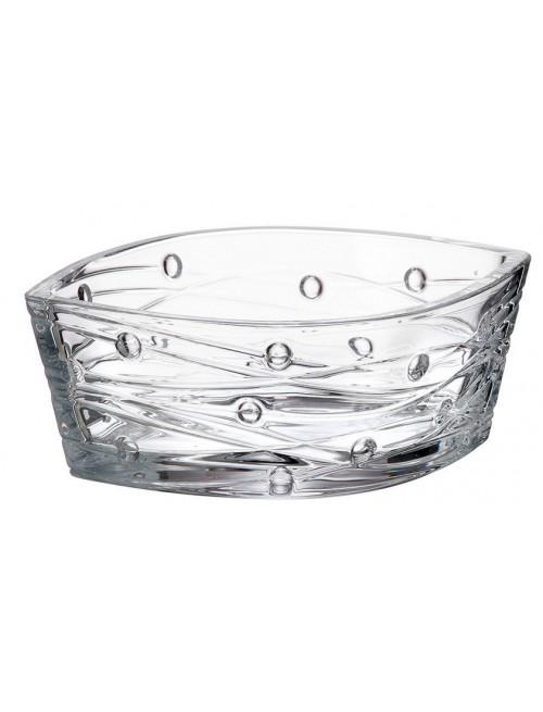 Crystal Bowl Labyrinth, unleaded crystalite, diameter 205 mm