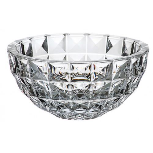 Crystal Bowl Diamond, unleaded crystalite, diameter 280 mm