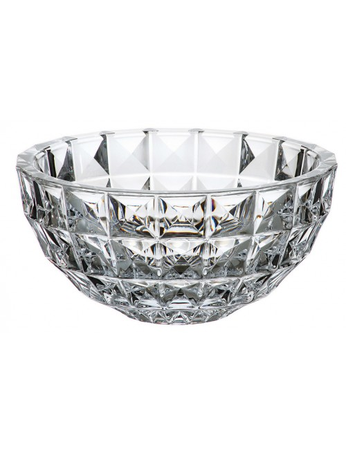 Crystal Bowl Diamond, unleaded crystalite, diameter 280 mm