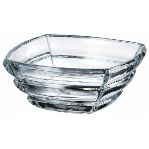 Crystal bowl Segment, unleaded crystalite, diameter 205 mm