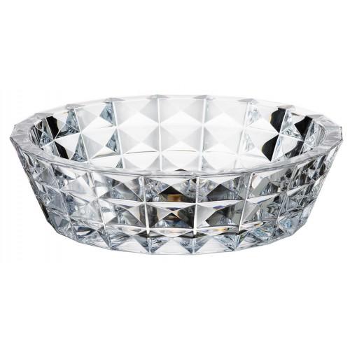 Crystal Bowl Diamond, unleaded crystalite, diameter 325 mm