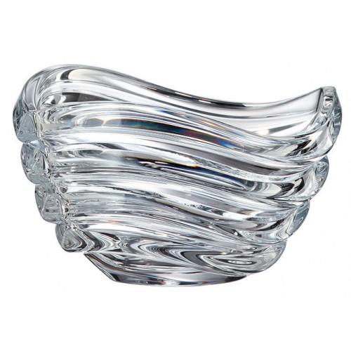 Crystal Bowl Wave, unleaded crystalite, diameter 165 mm