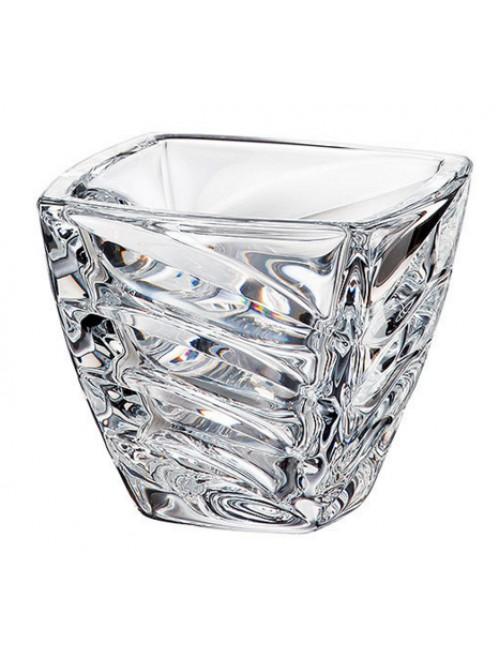 Crystal Bowl Facet, unleaded crystalite, diameter 140 mm