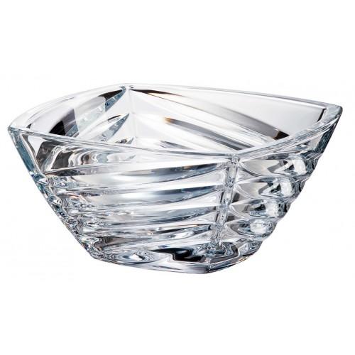 Crystal Bowl Facet, unleaded crystalite, diameter 330 mm