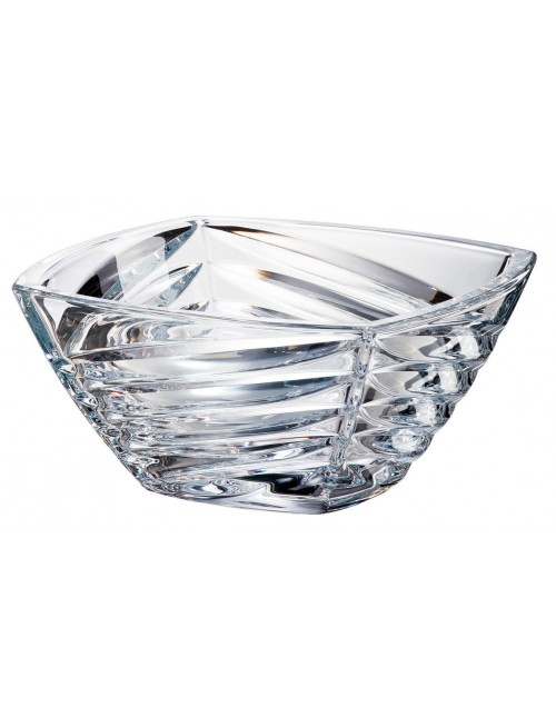 Crystal Bowl Facet, unleaded crystalite, diameter 330 mm