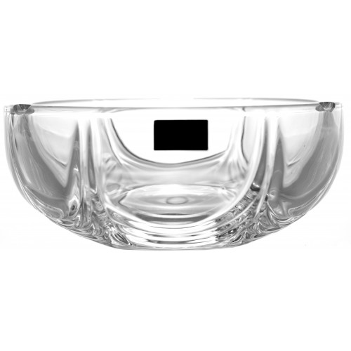Crystal Ashtray Orion, unleaded clear glass, diameter 145 mm