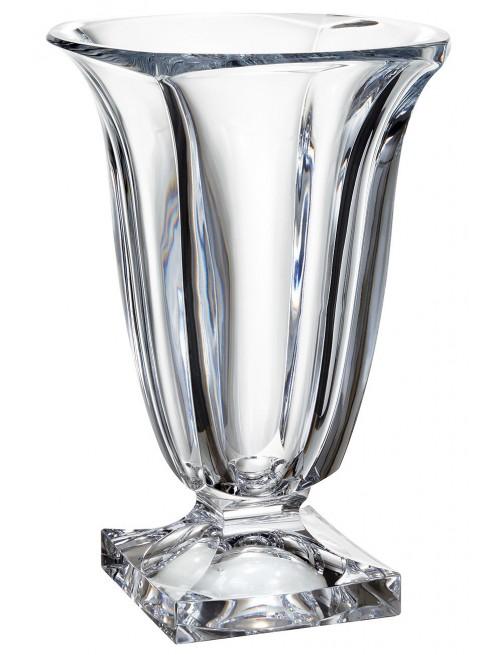 Crystal Vase Magma, unleaded crystalite, height 290 mm