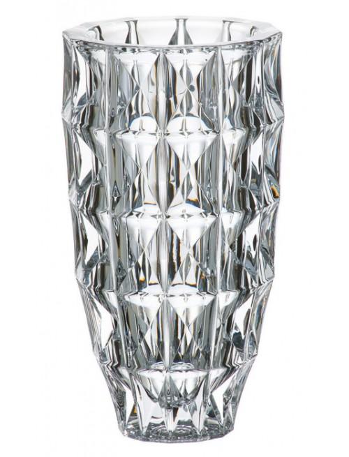 Crystal Vase Diamond, unleaded crystalite, height 280 mm