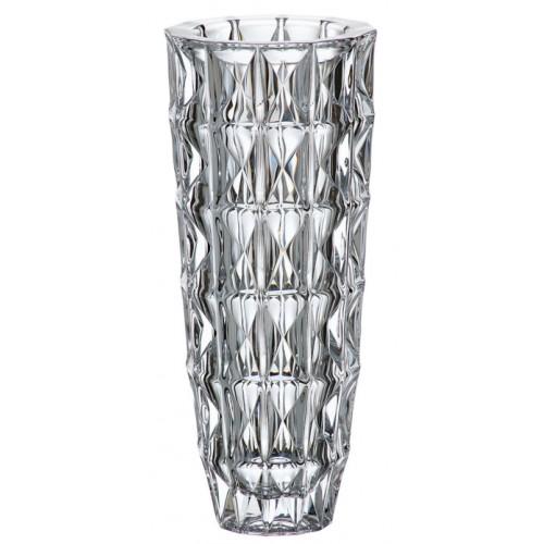 Crystal Vase Diamond, unleaded crystalite, height 330 mm