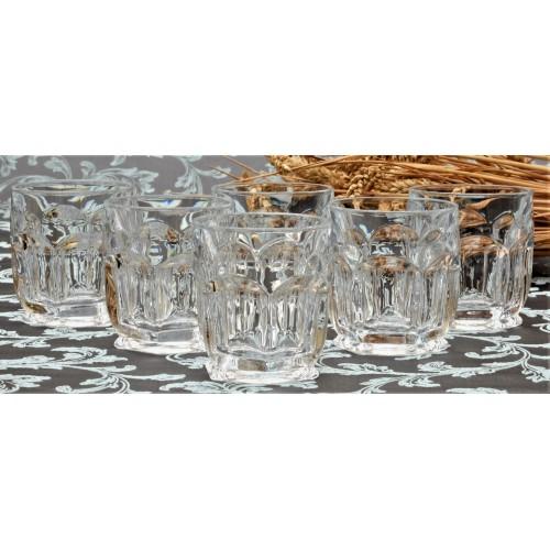 Crystal set glass Safari 6x, unleaded crystalite, volume 250 ml