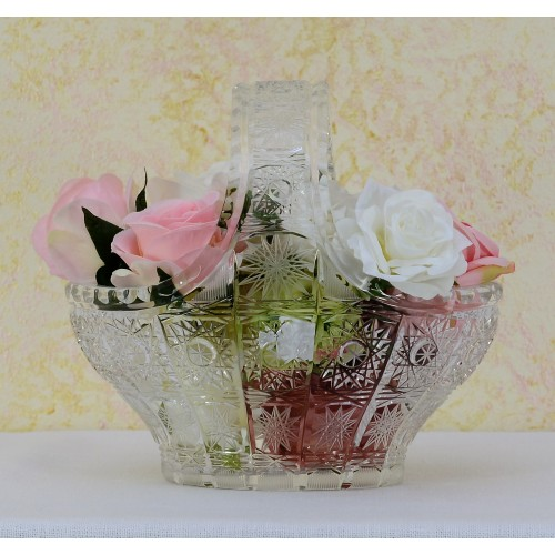 Crystal Basket 500PK, color clear crystal, diameter 200 mm