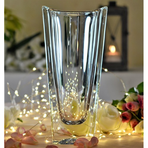 Crystal Vase Okinawa, unleaded crystalite, height 255 mm