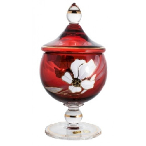 Box Flower, color ruby, height 250 mm