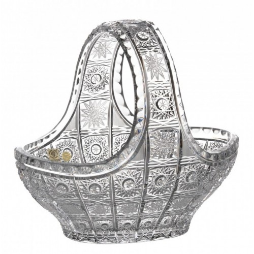 Crystal Basket 500PK, color clear crystal, diameter 230 mm