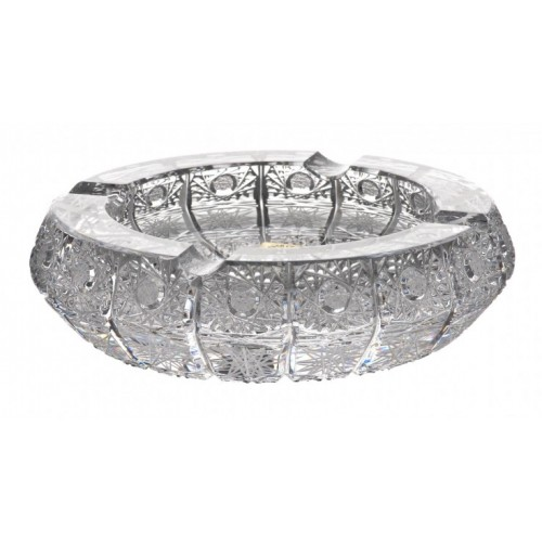 Crystal Ashtray 500PK II, color clear crystal, diameter 155 mm