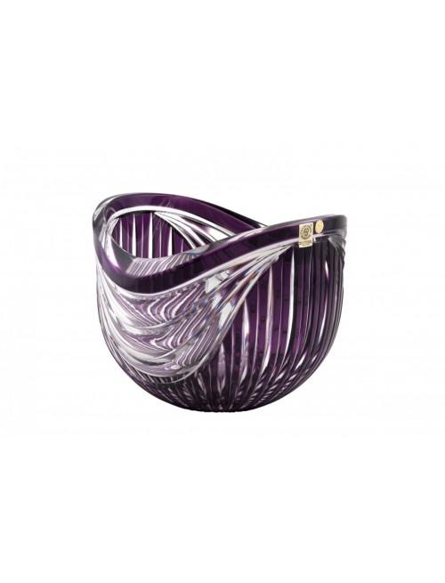 Crystal Bowl Harp, color violet, diameter 200 mm