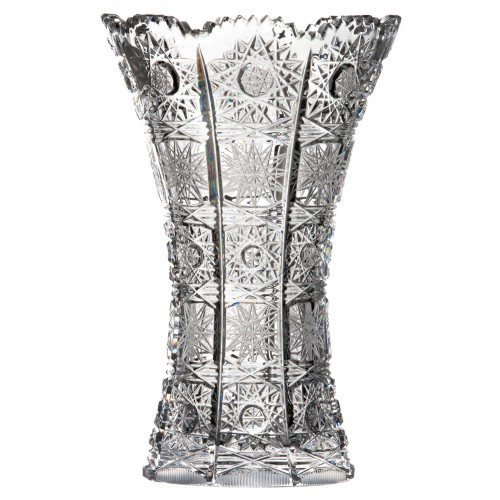 Crystal vase 500PK, color clear crystal, height 180 mm