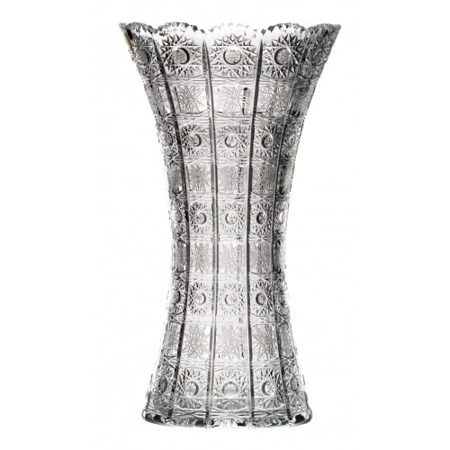 Crystal vase 500PK, color clear crystal, height 355 mm