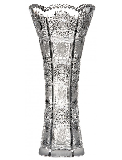 Crystal vase 500PK, color clear crystal, height 250 mm