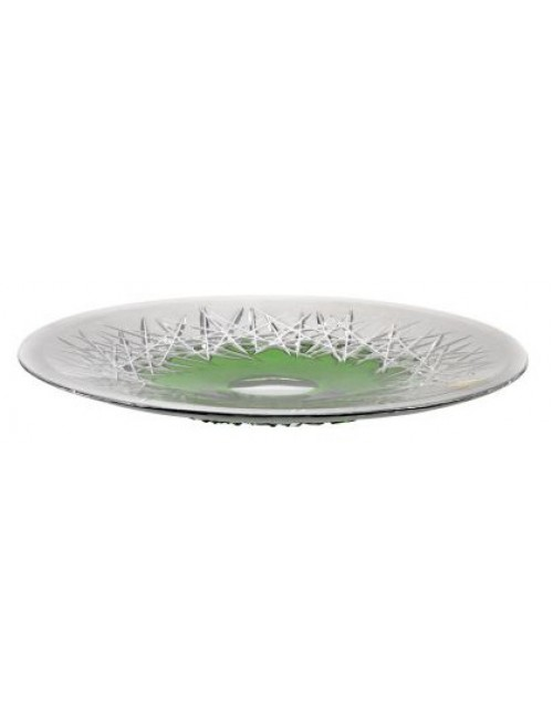 Crystal Plate Hoarfrost, color green, diameter 300 mm