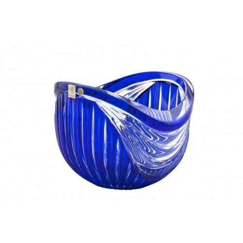 Crystal Bowl Harp, color blue, diameter 200 mm