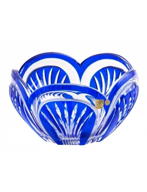 Crystal Bowl Fountain, color blue, diameter 230 mm