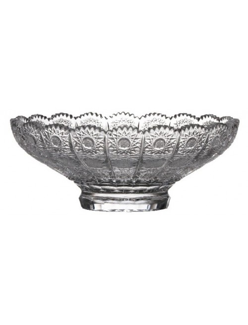 Crystal bowl 500 PK, color clear crystal, diameter 230 mm