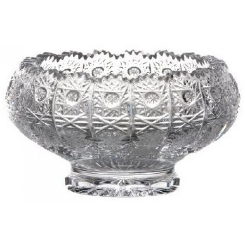 Crystal Bowl 500PK II, color clear crystal, diameter 128 mm