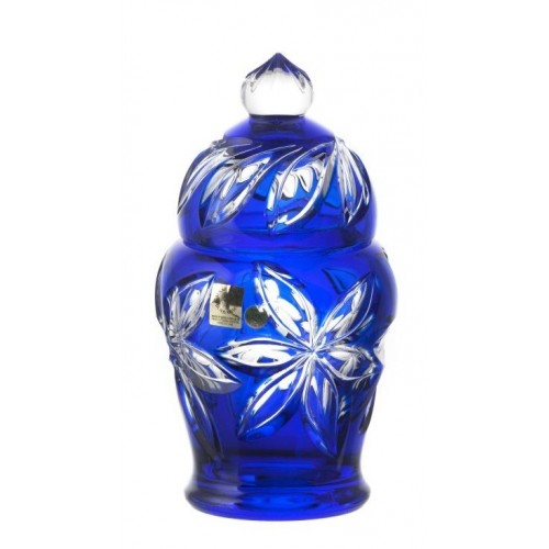 Crystal Box Linda, color blue, height 200 mm