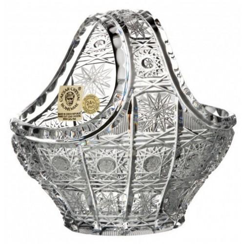 Crystal Basket 500PK, color clear crystal, diameter 120 mm