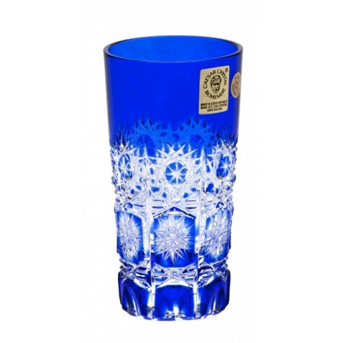 Crystal Glass Paula, color blue, volume 100 ml