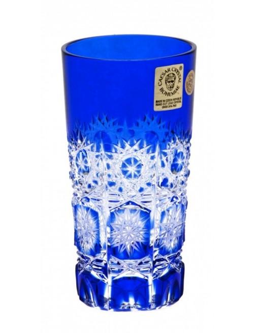 Crystal Glass Paula, color blue, volume 100 ml