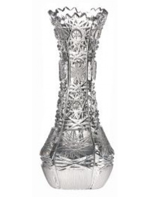 Crystal vase 500PK, color clear crystal, height 126 mm