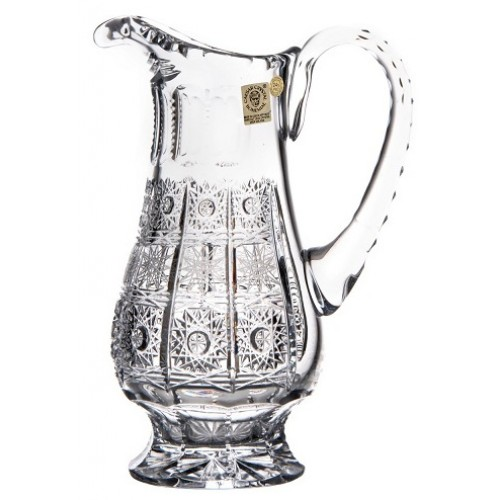 Crystal pitcher 500PK, color clear crystal, volume 550 ml