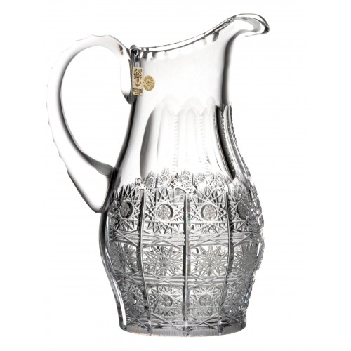 Crystal pitcher 500PK, color clear crystal, volume 600 ml
