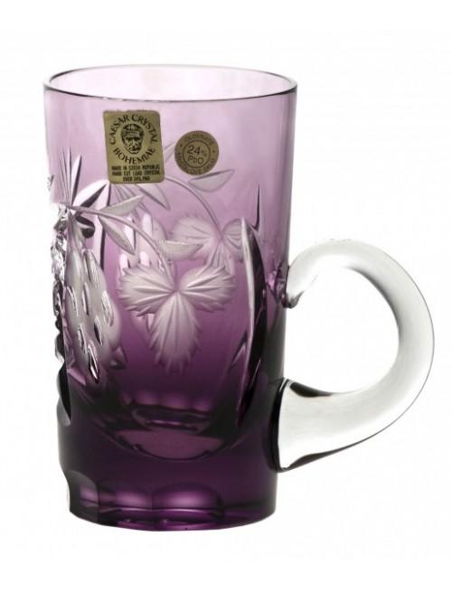 Crystal Cup Nacht vine, color violet, volume 100 ml