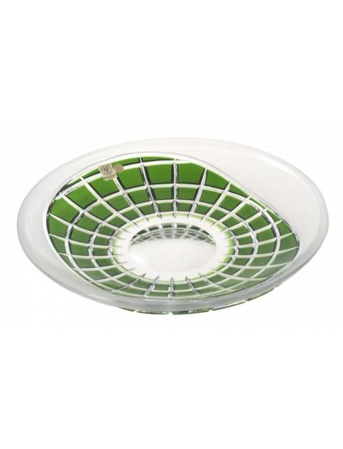 Crystal Plate Neron, color green, diameter 300 mm