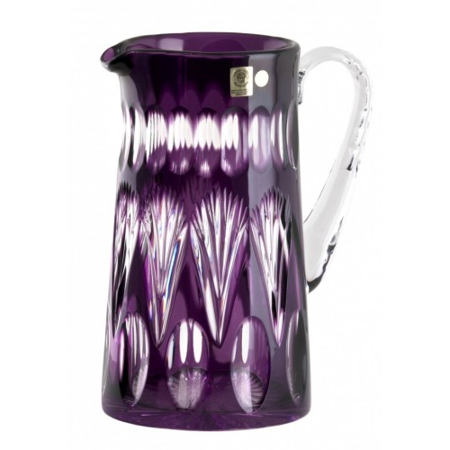 Crystal Pitcher Zora, color violet, volume 1450 ml