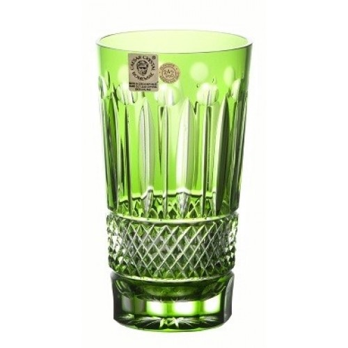 Crystal Glass Tomy, color green, volume 320 ml