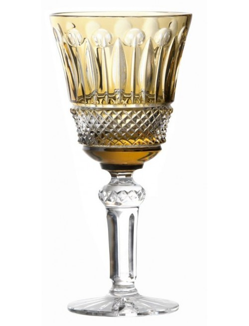 Crystal wine glass Tomy, color amber, volume 240 ml