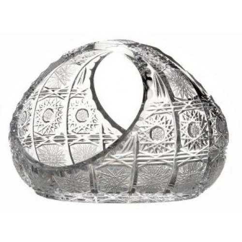 Crystal basket 500PK, color clear crystal, diameter 160 mm