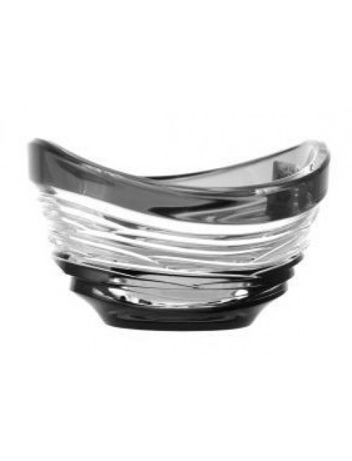 Crystal Bowl Poem, color black, diameter 95 mm