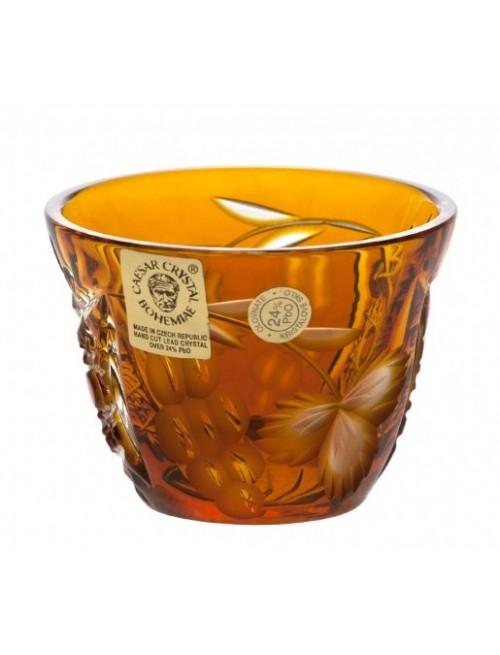 Crystal Shot Glass Nacht vine, color amber, volume 65 ml
