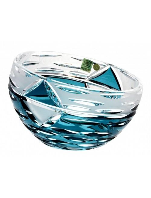 Crystal Bowl Mirage, color azure, diameter 180 mm