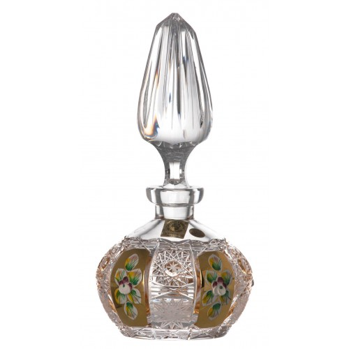 Crystal perfume bottle 500K Gold, color clear crystal, volume 200 ml